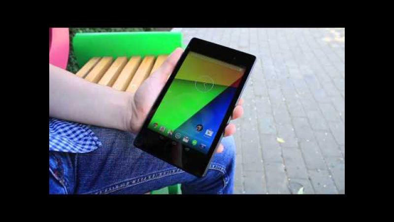 Обзор на планшет Asus Nexus 7 на аварском языке. Субтитрами