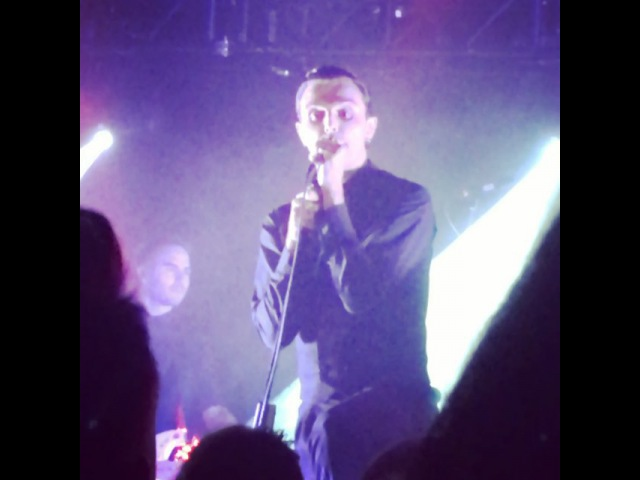 "Becki on Instagram: ""Loved the set list tonight. A nice mixture of the 3 albums. @theohurts is one gifted man! 🎤 Hurts birmingham live music gigs theo…"""