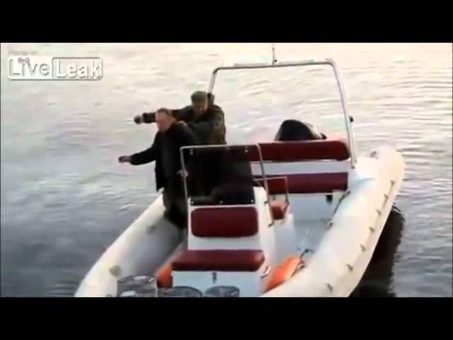 Grenade Fishing Gone Horribly Wrong
