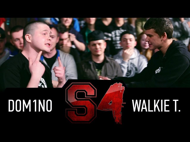 SLOVO | Краснодар. 4 сезон, Main event: Dom1no a.k.a. Many Meeno vs. Walkie T. [Рэп Vолна]