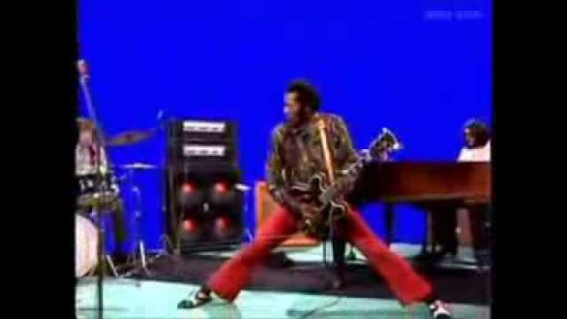 CHUCK BERRY - LIVE 1972 -
