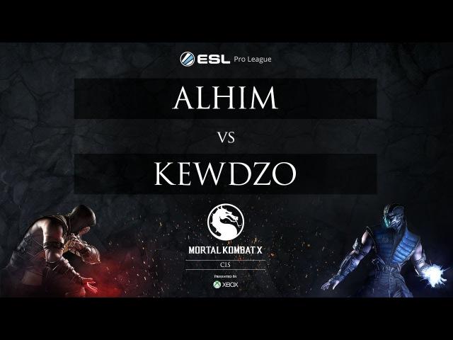 AlhiM vs Kewdzo - ESL MKX Pro League [CIS] - Week 2