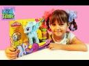 Play-doh My little pony Обзор Плей До МАЙ ЛИТЛ ПОНИ Радуга LizaTube