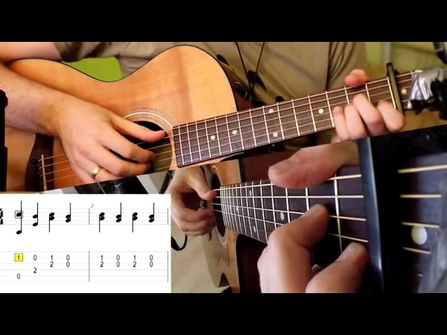 Wolven Storm - Priscilla's song (Guitar Cover) with TABS