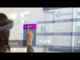 Microsoft HoloLens Gesture Input