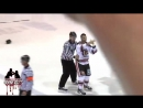 Dylan Garrioch Vs Guillaume Coude LNAH October 24th RIver Kings Vs Eperviers