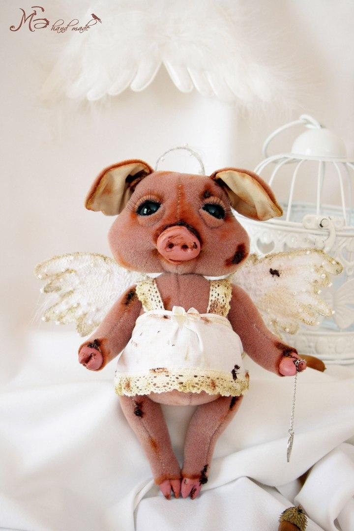 игрушка свинка