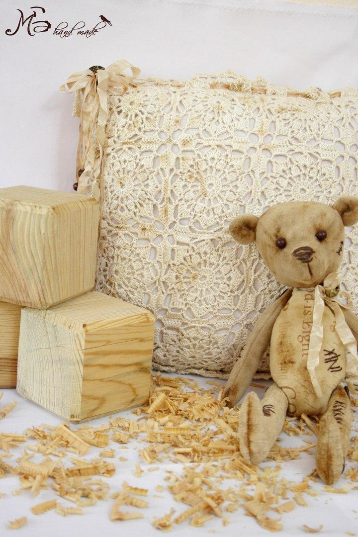винтажный медведь