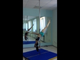 Комбинация pole dance. Тренировки. Хотенова Валерия