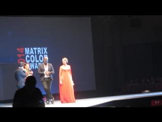 Открытие Бизнес Форума MATRIX 2015 и награждение финалистки конкурса!!!