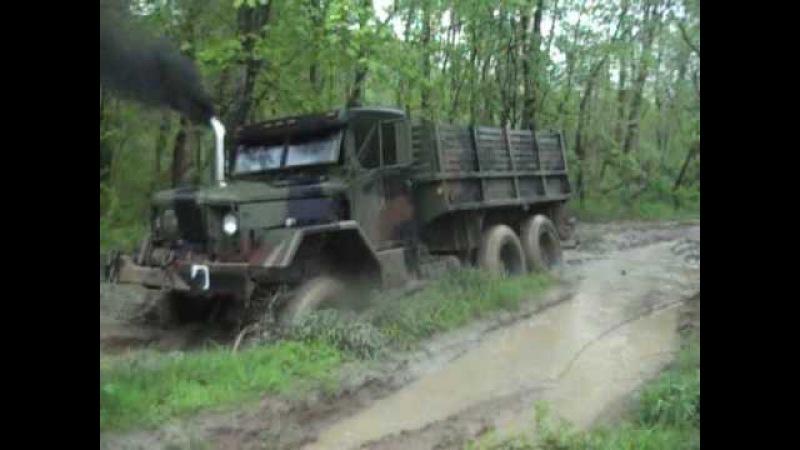 M35A2 deuce in mud