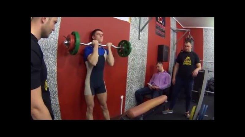 RAW100% Подъем на бицепс Прахов(66кг) - 60 кг в зачет, Лемешко(58кг) - 31 кг в зачет