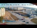 Тройное ДТП на т-образном перекрестке в Кингисеппе. Видео момента с веб-камеры. KINGISEPP