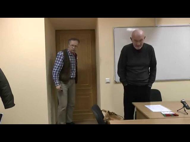 Ноговицын О.М. Метафизика поведения, семестр 2014/15 - 1