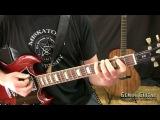 Stoner Metal Lesson - Doom Groove, Metal Riffing Techniques
