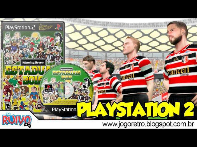 Patch WE Campeonatos Estaduais 2016 no Playstation 2 (195 CLUBES do BRASIL)
