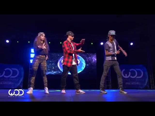 Gran Baile de dubstep - Nonstop, Dytto, Poppin John - World of Dance Los Angeles