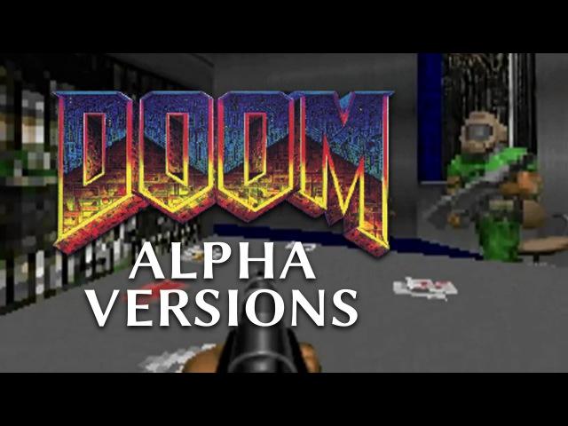 DOOM ⭐ Early Alpha Versions