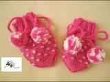 ВЯЗАНИЕ СПИЦАМИ!ЦАРАПКИ(варежки)подробный видео урок для начинающих.Mittens knitting
