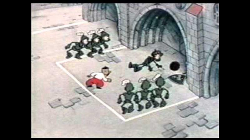 Как казаки в футбол играли 1970