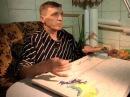 Криворожский мастер вышивает гладью пейзажи