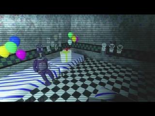 Если-бы Аниматроники были бешеными во второй части - Five Nights at Freddy s 2 Анимация -