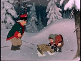Двенадцать месяцев (1956) – новогодний мультфильм для детей.