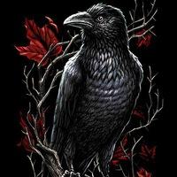 Ворона Насвайщица |