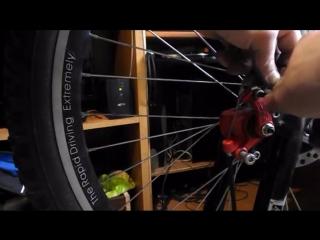BOLI и FLAME как поставить дисковые тормоза на велосипед, установка, настроить и регулировка.