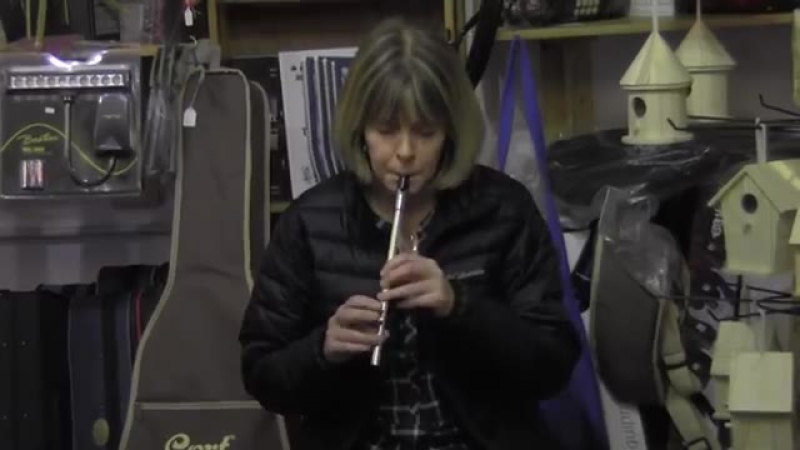 Kathleen Conneely on Tin Whistle in Custy's