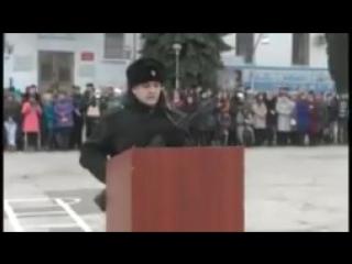 В российской армии на присяге кричат Аллаху Акбар