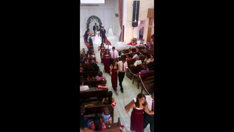Свадьба .Церковь Живой поток г. Гавана . Куба