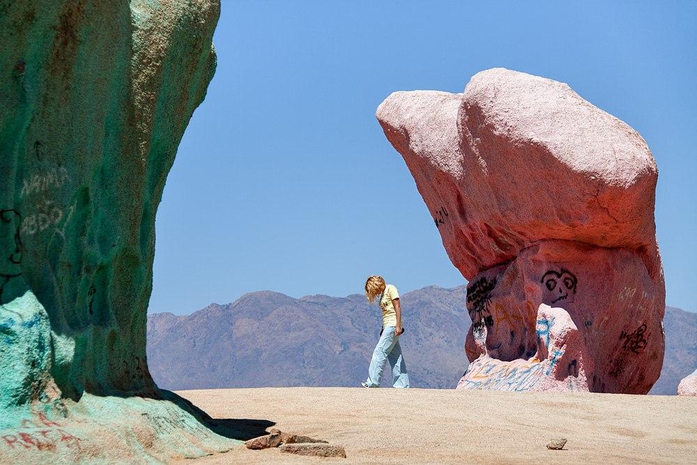 les roches peints