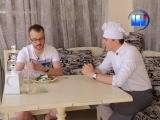 Страва від шефа 10 Салат з морепродуктами та полуницею