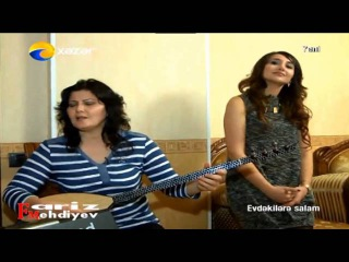 Asiq Zulfiyye ve Oglu Babek yeni duet 2016 - (turk bul getir) Qurbet elde can vermerem olume