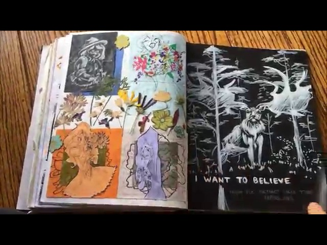 My Calarts Sketchbook 2016 [undeclared]