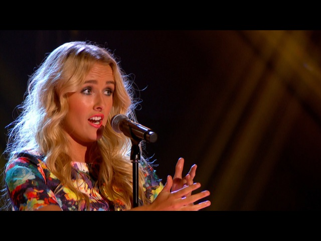 Annelies Kruidenier performs 'Chandelier' The Voice UK 2015 Blind Auditions 7 BBC One