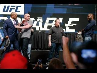 UFC Даниэль Кормье vs. Джон Джонс - Дерзкие выходки / Daniel Cormier vs. Jon Jones