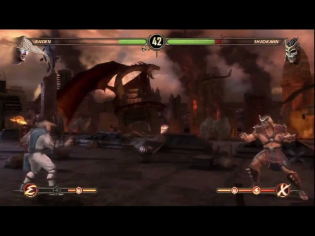 Прохождение Mortal Kombat - Часть 17 — Рэйден — Финал