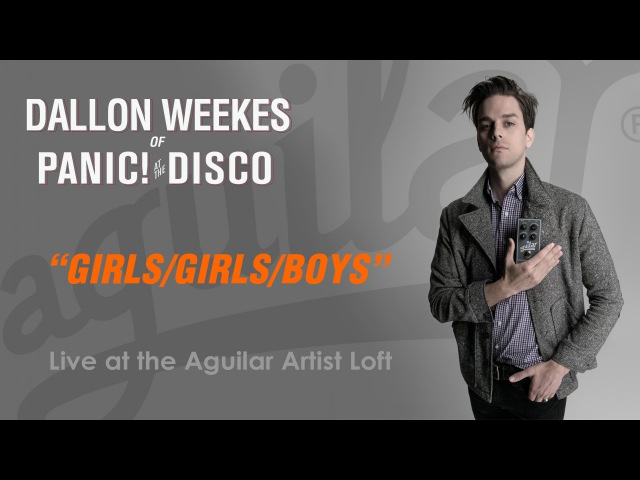 Dallon Weekes from Panic! at the Disco - Live at the Aguilar Artist Loft