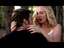 5x11 Klaus and Caroline kiss Klaroline moments - The Vampire Diaries