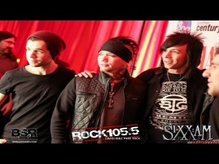 Big Smash Radio Exclusive Interview With Sixx:A.M. - RadioContraband Convention 2016