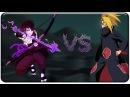 Sasuke VS Deidara and Obito (Tobi) 「♫ Skrillex Bangarang ♫」 「AMV」