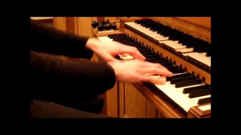 Саундтрек из Интерстеллара на церковном органе До мурашек