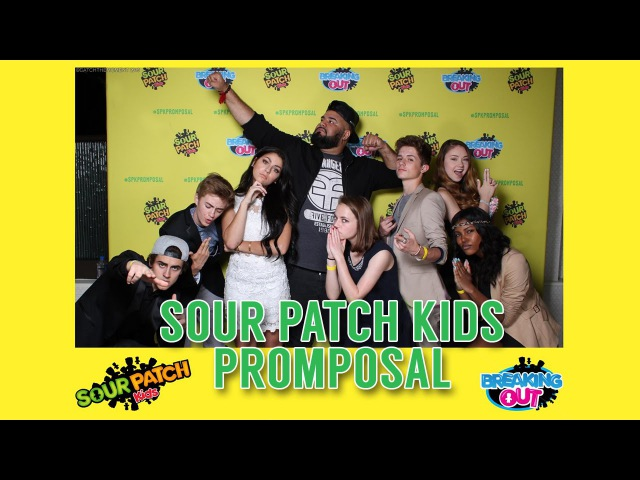 Sour Patch Kids PROMPOSAL *Exclusive* |Chuey Martinez|