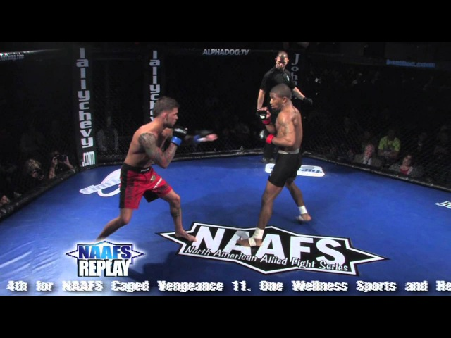 NAAFS Finish of the Week 86 Jerrell Hodge vs Cody Garbrandt