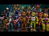 SFM Making  a FNAF Thank You! poster