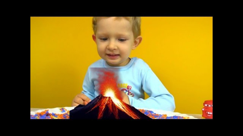 Извержение вулкана. Проводим химический опыт. Eruption. Chemistry experiments