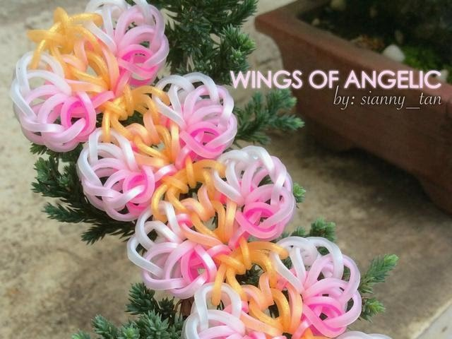 WINGS OF ANGELIC Hook Only bracelet design