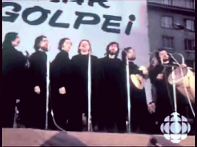 Quilapayún 1973 - El pueblo unido jamás será vencido [VIDEO EN VIVO]